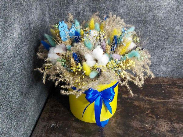 Сухоцветы в коробочке 002