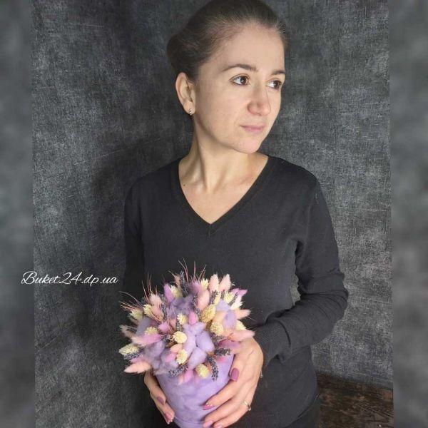 Сухоцветы в коробочке 001