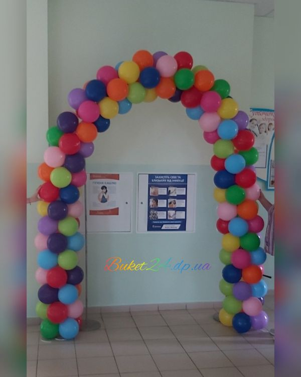 арка из шариков
