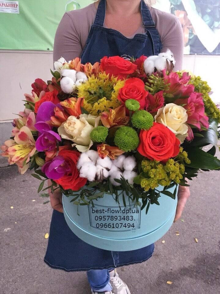 Доставка цветов из конфет в днепропетровске подарок на 14 февраля пожарному